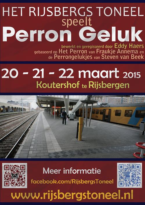 Poster van Perron Geluk, blijft tof.